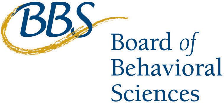 The California Board of Behavioral Sciences